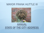 ANNUAL State of the City Address