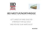 IBD MEETUP/NORTHRIDGE