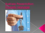 Business Presentation: Property Manager