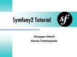 Symfony2 Tutorial