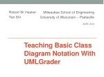 Teaching Basic Class Diagram Notation With UMLGrader