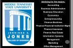 Advising for the majors: Accounting Business Administration Business Education Economics Entrepreneurship Finance-Busine
