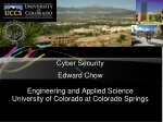 Cyber Security Edward Chow