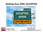 Getting Your Offer ACCEPTED