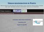 Urban regeneration in Porto