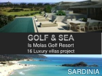 GOLF & SEA Is Molas Golf Resort 16 Luxury villas project