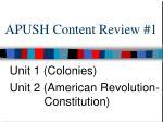 APUSH Content Review #1