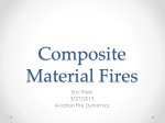 Composite Material Fires