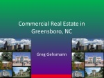 Commercial Real Estate in Greensboro, NC