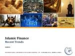 Islamic Finance Recent Trends