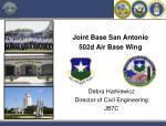 Joint Base San Antonio 502d Air Base Wing