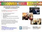 2012 REALTORS® Conference & Expo November 9-12, Orlando, FL I'm speaking on <insert your session's(s') title(s)&