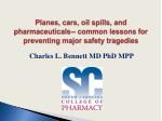 Charles L. Bennett MD PhD MPP