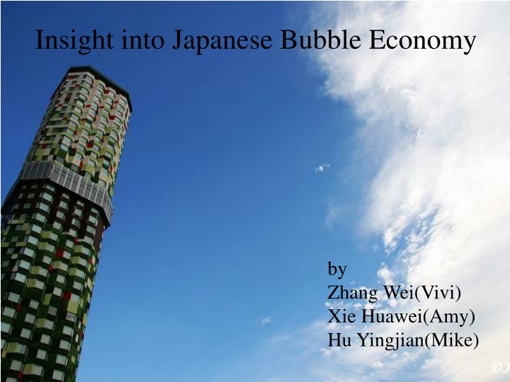 insight into japanese bubble economy n.