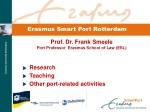 Erasmus Smart Port Rotterdam