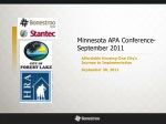 Minnesota APA Conference-September 2011