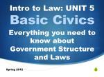 Basic Civics