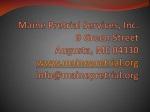 Maine Pretrial Services