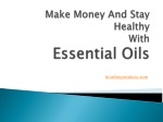 Make Money And Stay Healthy