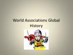 World Associations Global History