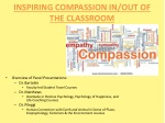 Inspiring Compassion in/out of the Classroom
