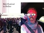 Holi Festival in Dallas