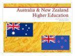 Australia & New Zealand Higher Education