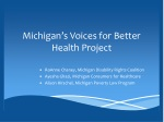 Michigan's Voices for Better Health Project