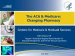 The ACA & Medicare: Changing Pharmacy