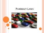 Pharmacy Laws