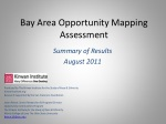 Bay Area Opportunity Mapping Assessment