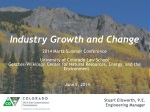 Industry Growth and Change
