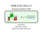 CHM 5175: Part 2.7