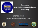 Tennessee  Law Enforcement Challenge Workshop