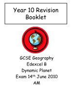 Year 10 Revision Booklet