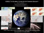 GDELT: A Global Catalog of Human Society