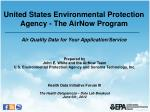Prepared by John E. White and the  AirNow  Team U.S. Environmental Protection Agency and Sonoma Technology, Inc. Health