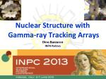 Nuclear Structure with Gamma-ray Tracking Arrays