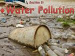 Section 8:  Water Pollution