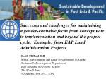 Keith Clifford Bell Social, Environment and Rural Development (EASER) Sustainable  Development Department East  Asia and