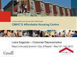 CMHC'S Affordable Housing Centre