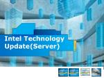 Intel Technology Update(Server)