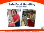 Safe Food Handling for Volunteers