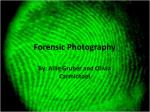 Forensic Photography