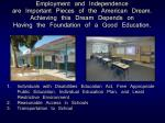 1.	 Individuals with Disabilities Education Act, Free Appropriate Public Education, Individual Education Plan, and Least