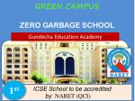 GREEN CAMPUS ZERO GARBAGE SCHOOL