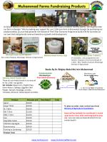 Muhammad Farms Fundraising Products