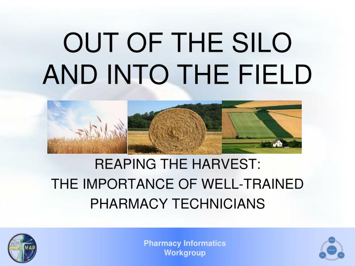out of the silo and into the field n.