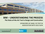 BIM – UNDERSTANDING THE PROCESS The State-of-the-Art Tool in Design and Construction