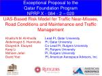 Exceptional Proposal to the Qatar Foundation Program NPRP X - 084 - 2 – 020